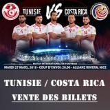TUN vs Costa Rica - vente billets