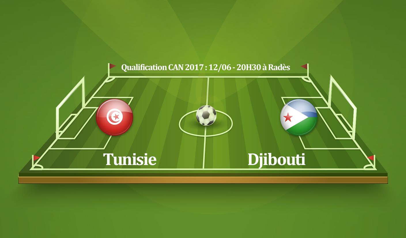 Tunisie vs Djibouti