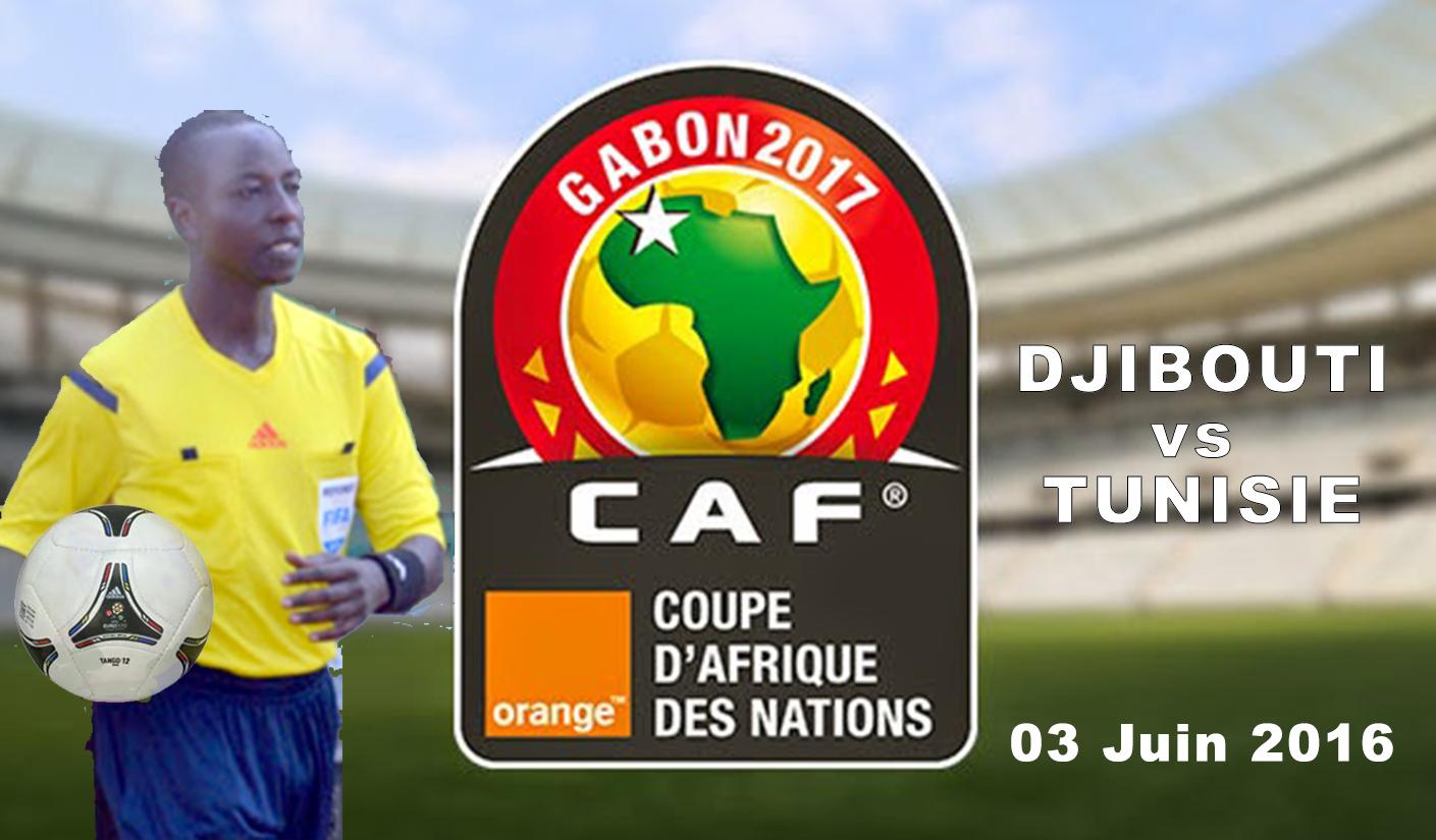 Djibouti vs Tunisie Affiche
