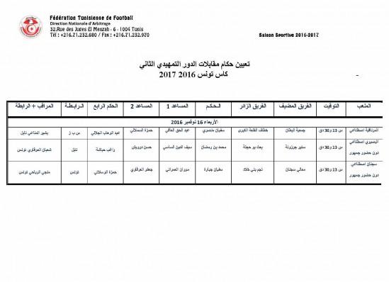 -Désignation des Arbitres - 2è Tour préliminaire Coupe de Tunisie 2016_Page_3