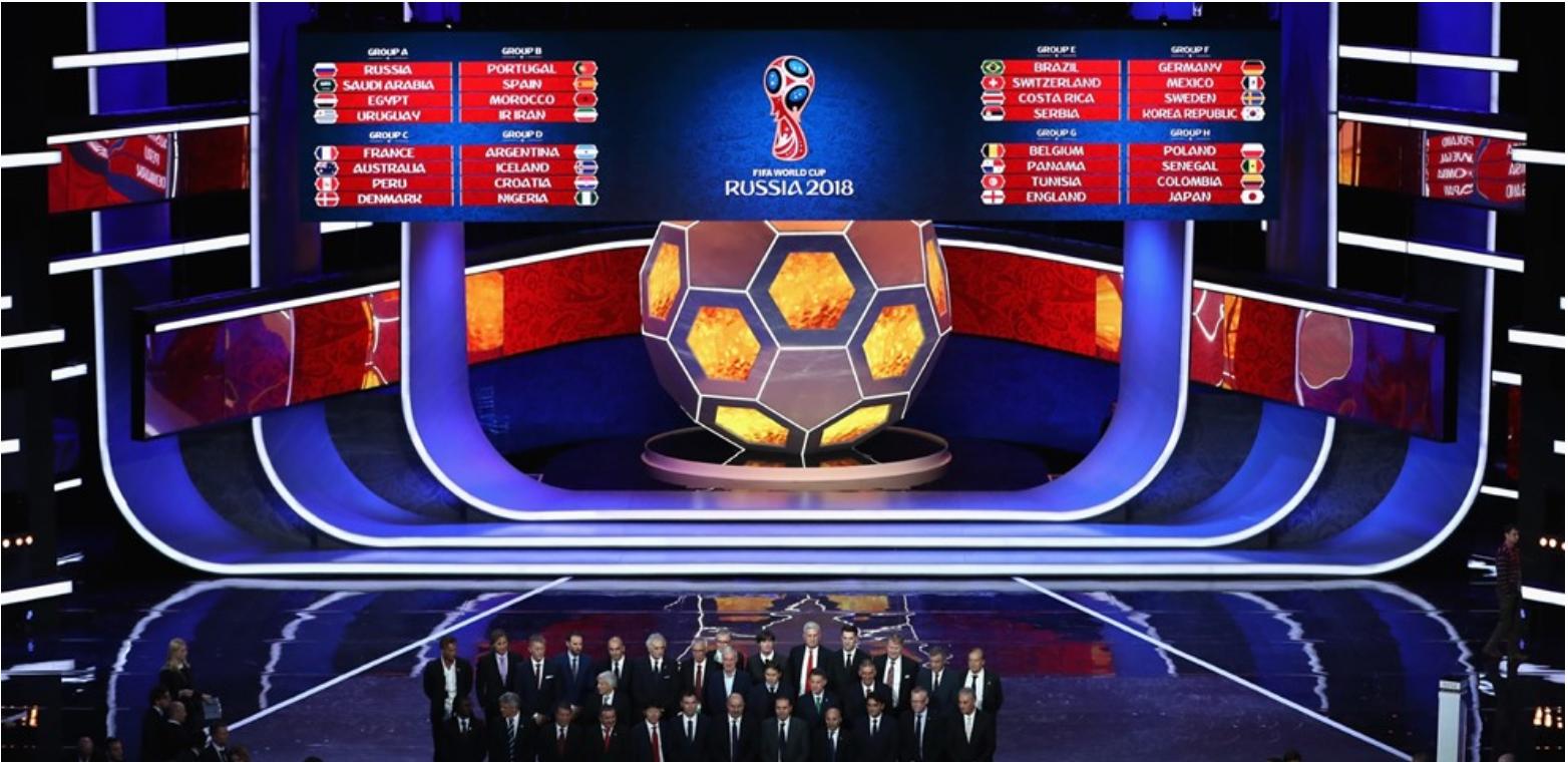 Russie 2018 Calendrier Des Matches De La Selection