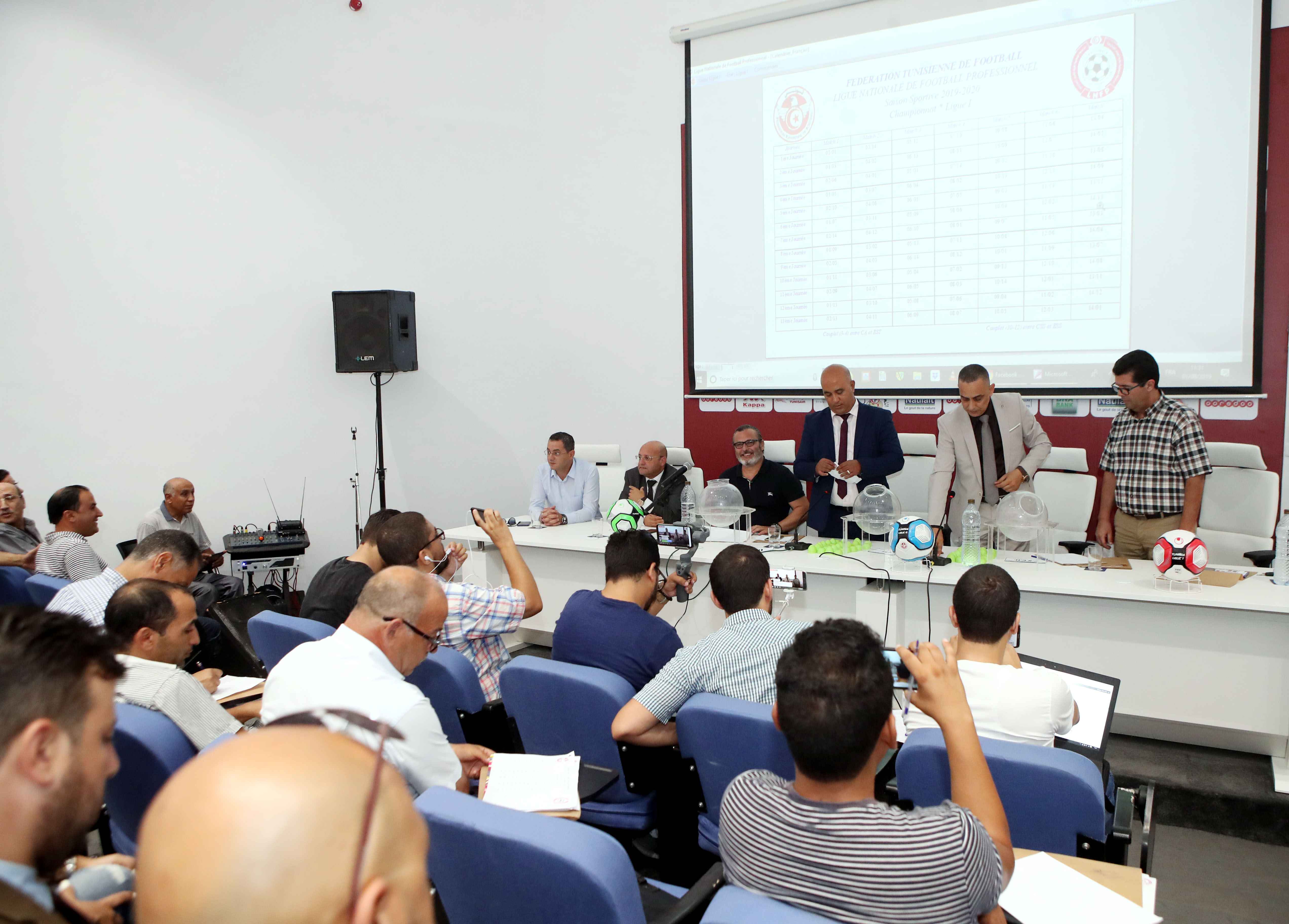 Calendrier Et Resultats Ligue 1.Ligue 1 Federation Tunisienne De Football